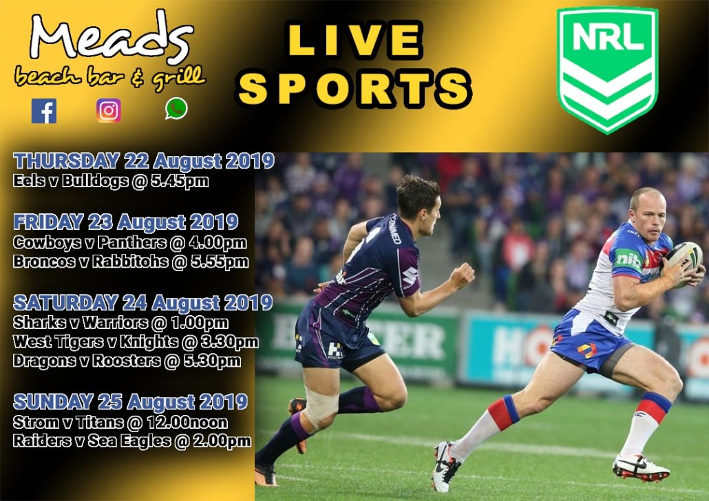 Meads in Bali Sports NRL
