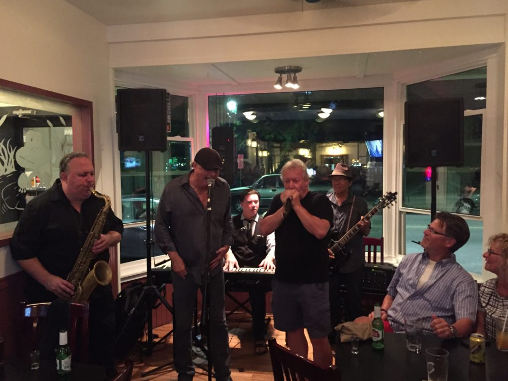 Chuck, Donny and Pat from Downchild join Pete Devlin and Tyler Yarema at The Leeky Canoe