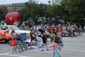 The last big concert brought out community together