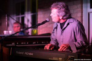 John Hume on keyboards