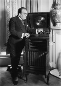 Caruso, the first recording star