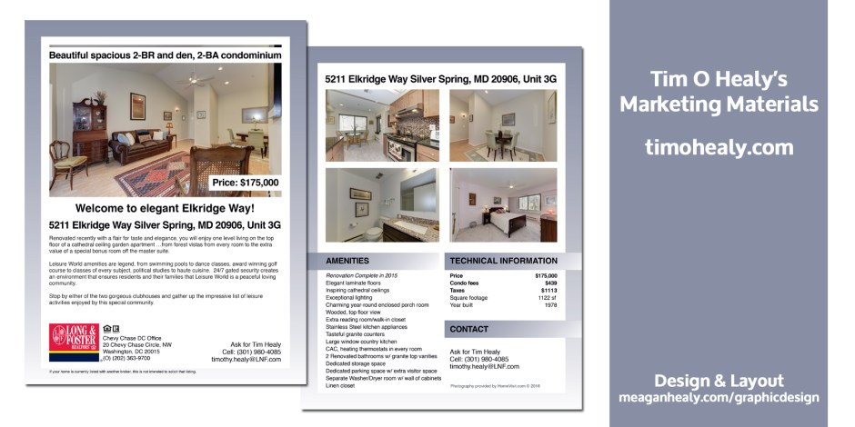 Elkridge2016_Marketing materials