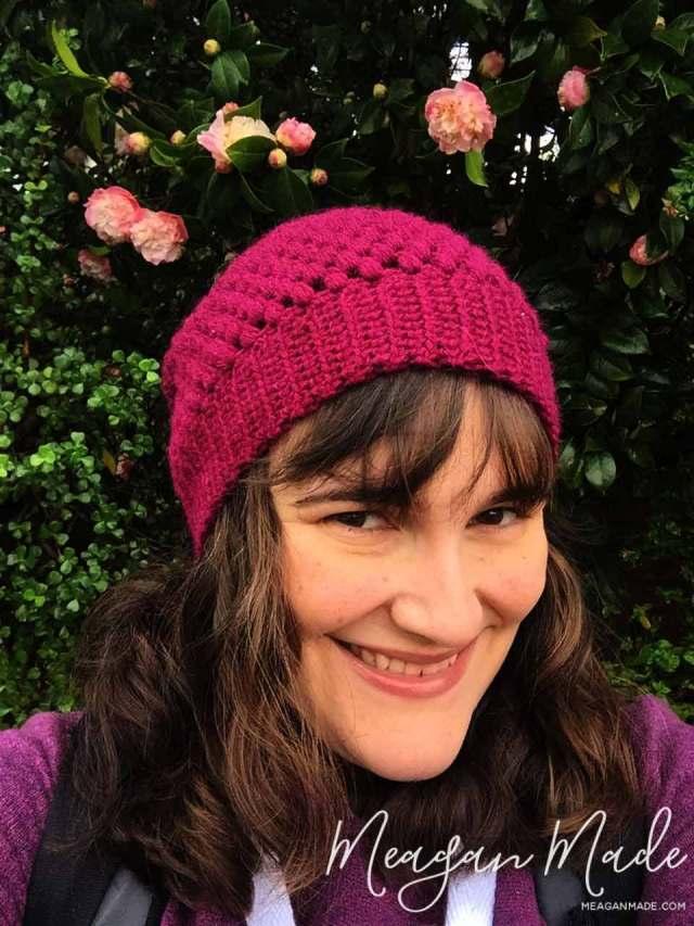 Puff Stitch Beanie | MeaganMade.com