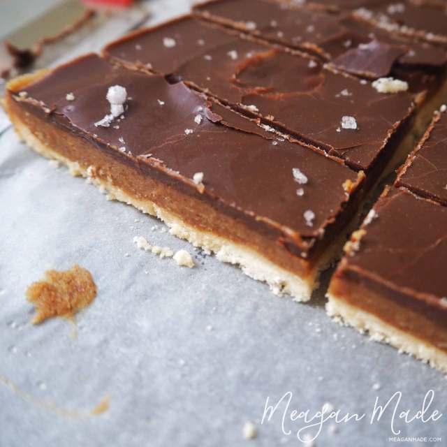 Twix Bar Slice | MeaganMade.com