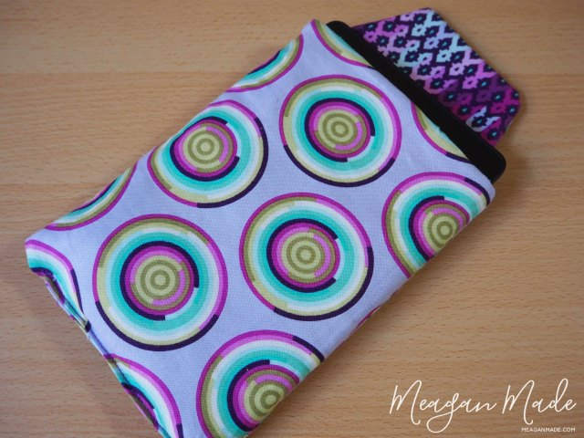 Kindle Pouch Option 2 | MeaganMade.com