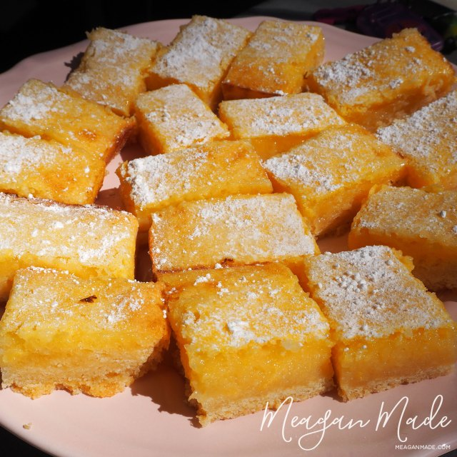 Lemon Bars | MeaganMade.com