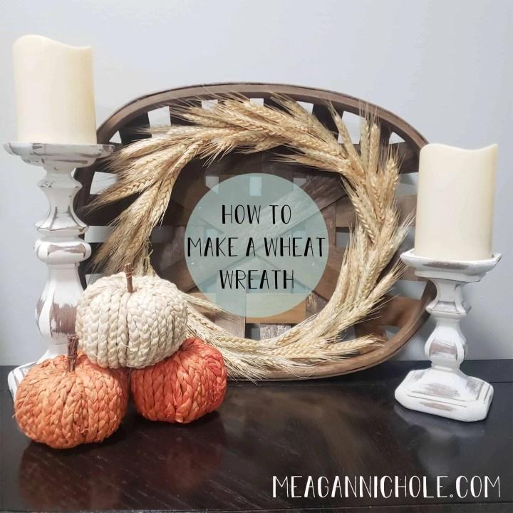 How to Make a Wheat Wreath