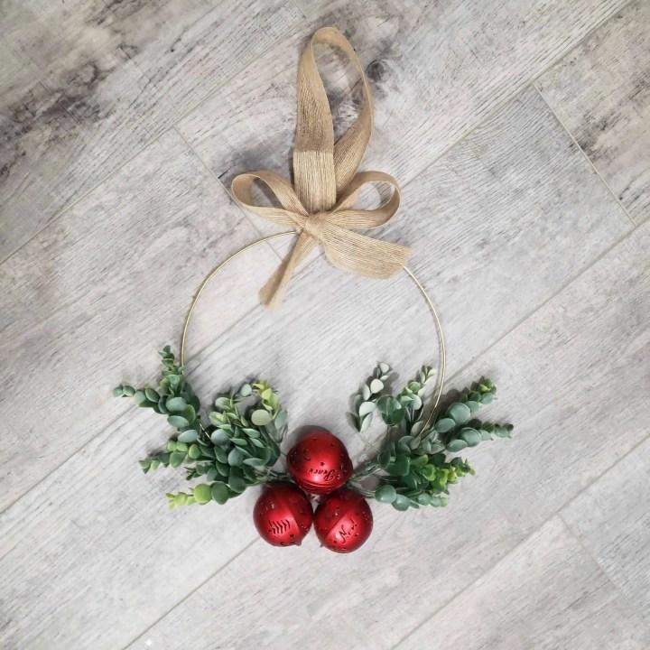 Christmas Hoop Wreath