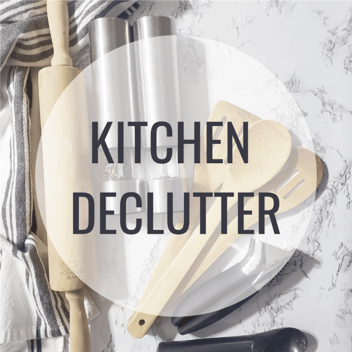 Kitchen Declutter cover photo
