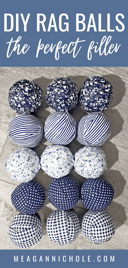 navy rag balls
