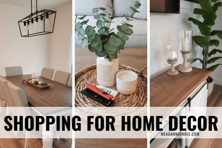 shopping for home decor