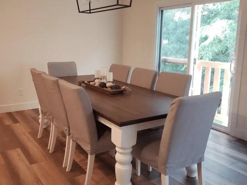 Shopping for home decor for farmhouse kitchen table centerpiece