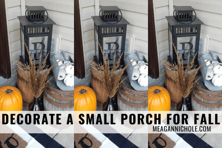 The easiest way to Decorate a Small Porch for Fall