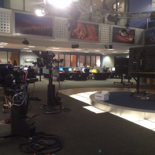 Part of the newsroom at KDVR/KWGN