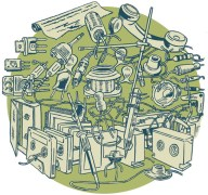 Radio Tuesday illustration by Marc Baines