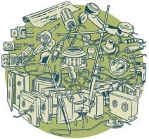 Radio Tuesday illustration by Marc Baines