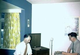 Alf Stanway & Derek Hill, 1960