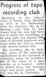 Evening Telegraph news clipping