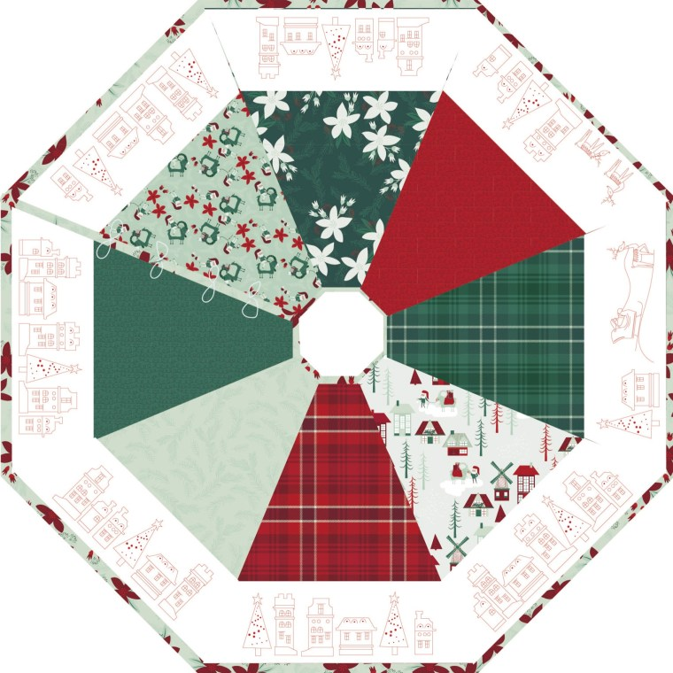meags and me Noel Tree Skirt Pattern