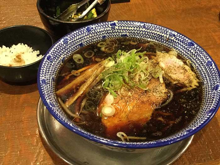 平成30年 北斗市 中華ぞば櫓屋 櫓醤油ラーメン