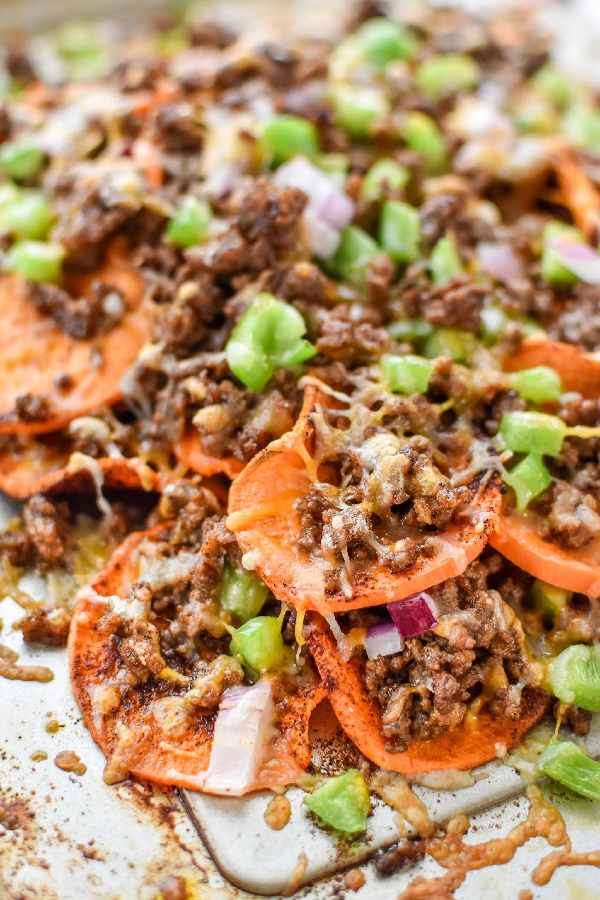 Prep Ahead Sweet Potato Nachos