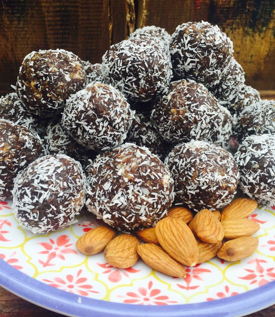 Almond Joy Energy Bites