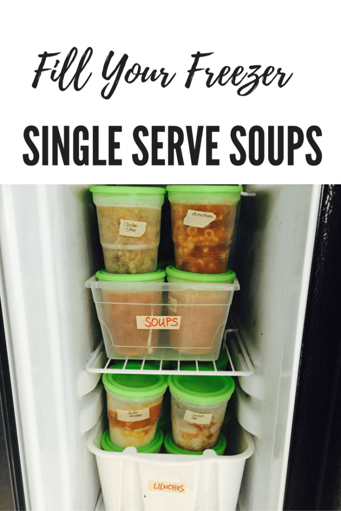Single Serve Soups Pin