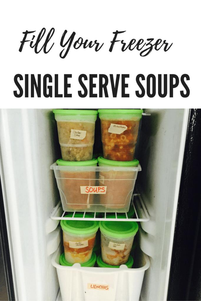 Single Serve Soups Pin