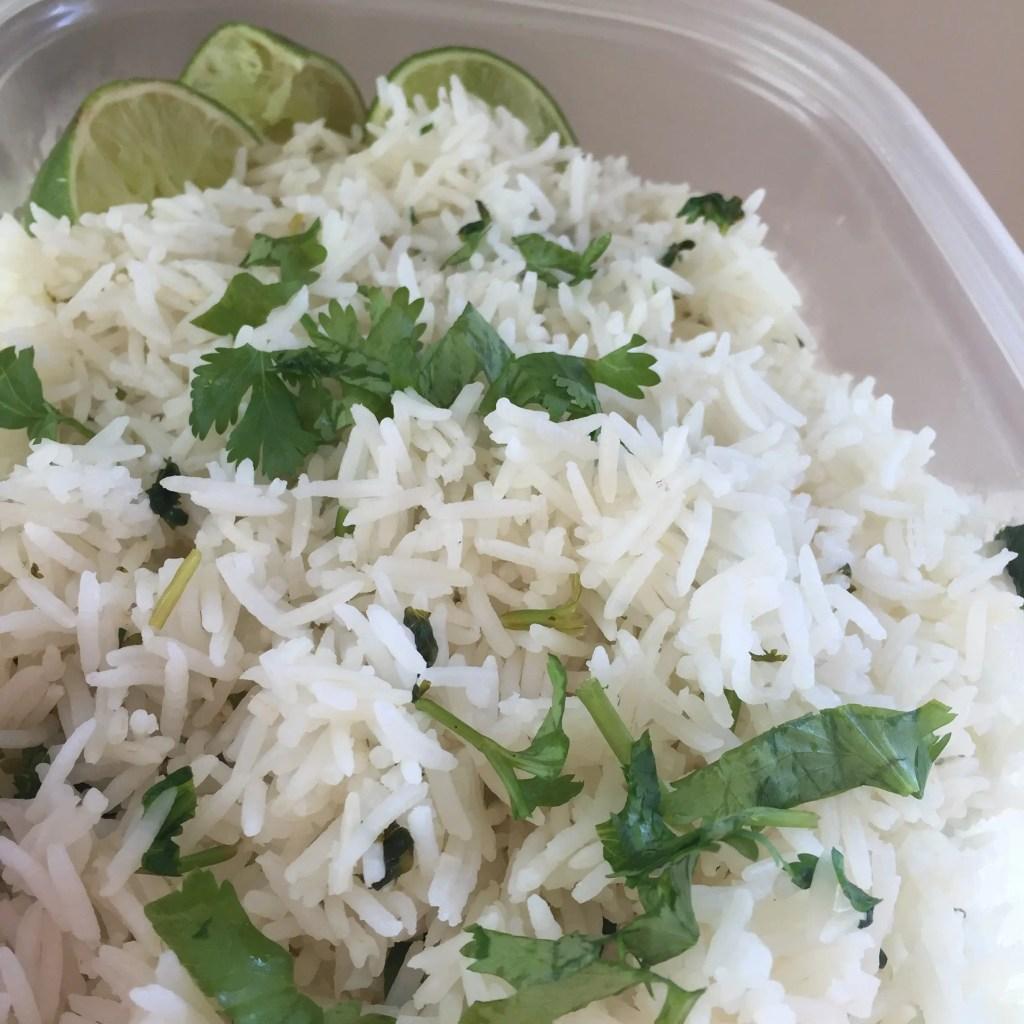 Cilantro Lime Rice Instant Pot