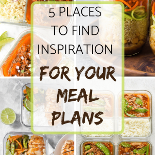 5 places to find inspiration for your meal plans