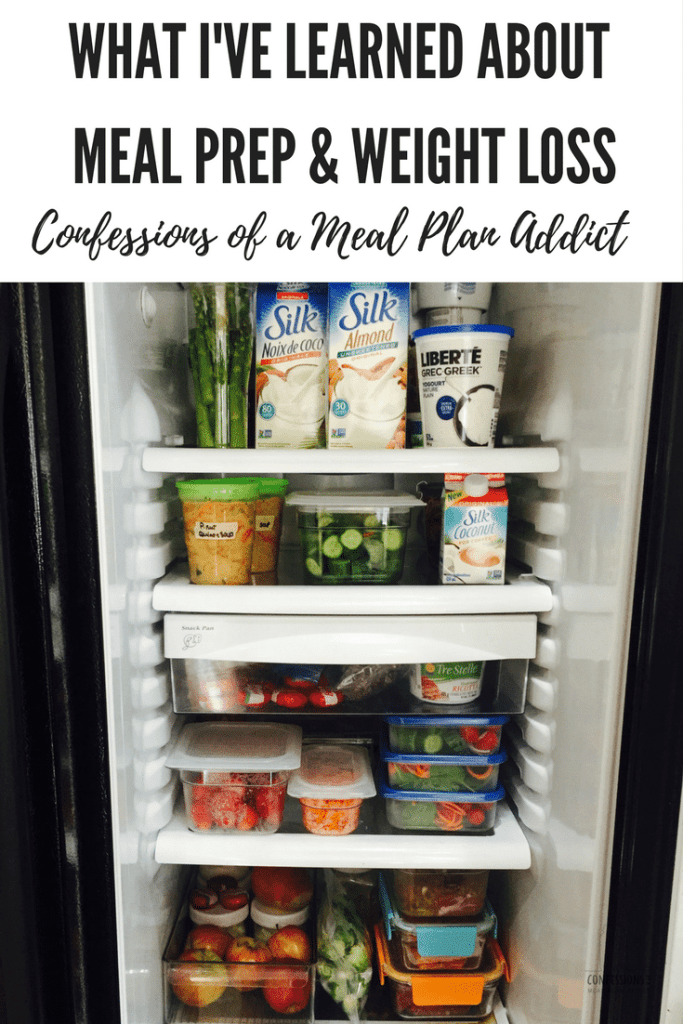 What I've Learned About Meal Prep and Weight loss