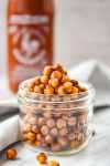 Honey Sriracha Air Fried Chickpeas Hero