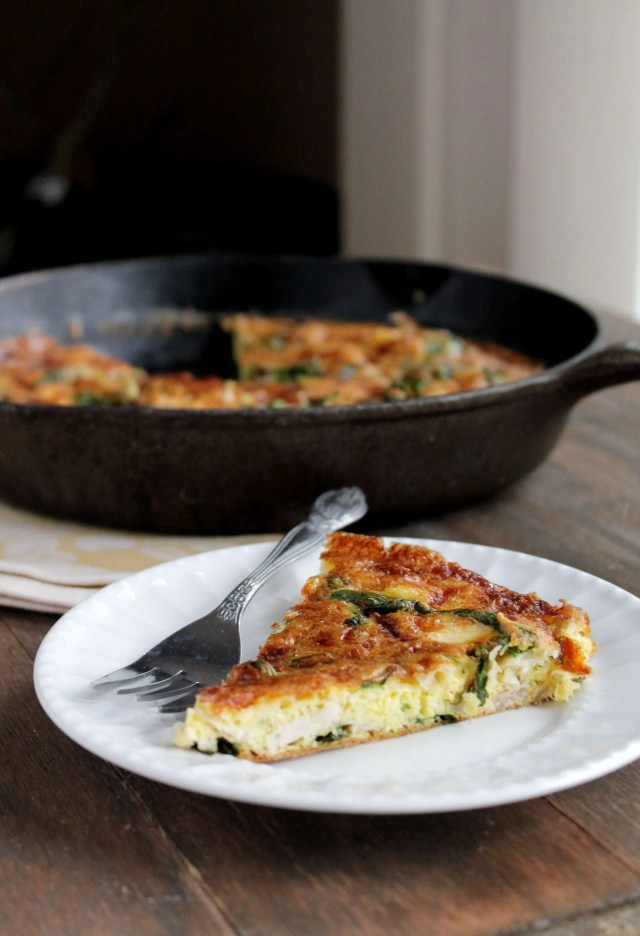 Leftover-Turkey-Frittata