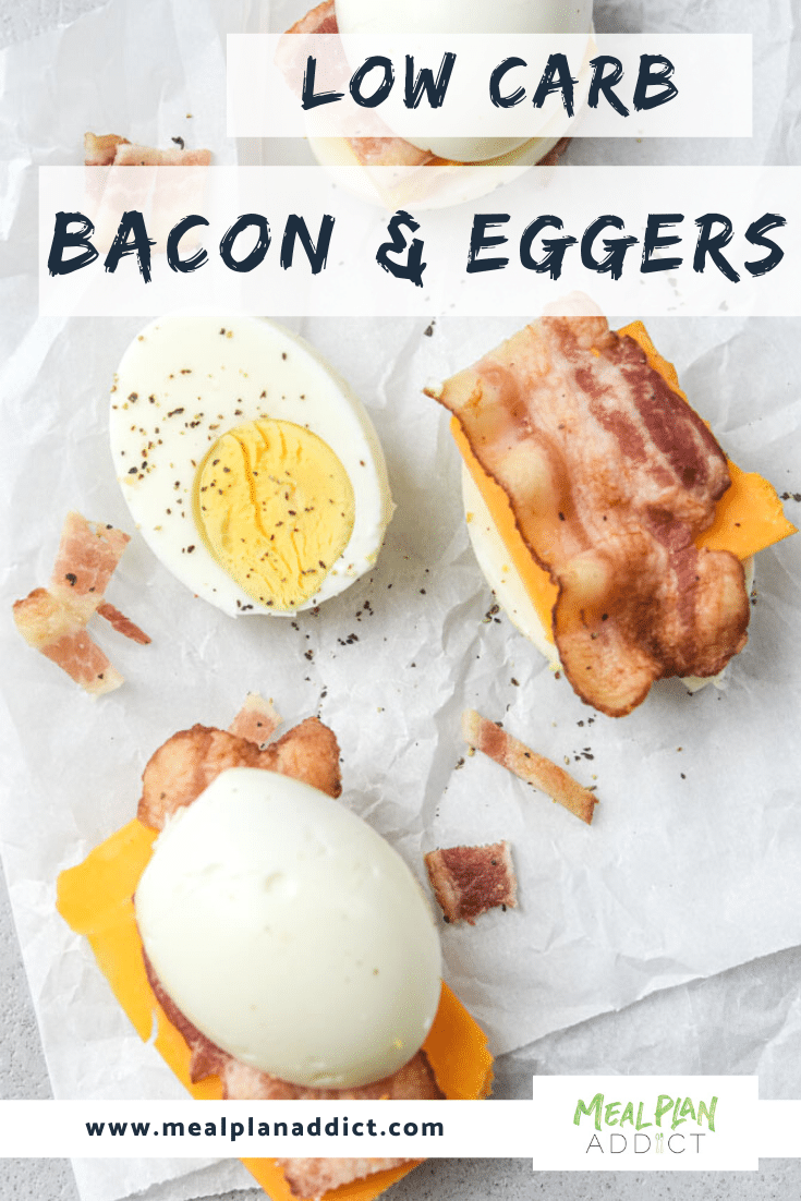 Low Carb Bacon & Eggers - Meal Plan Addict