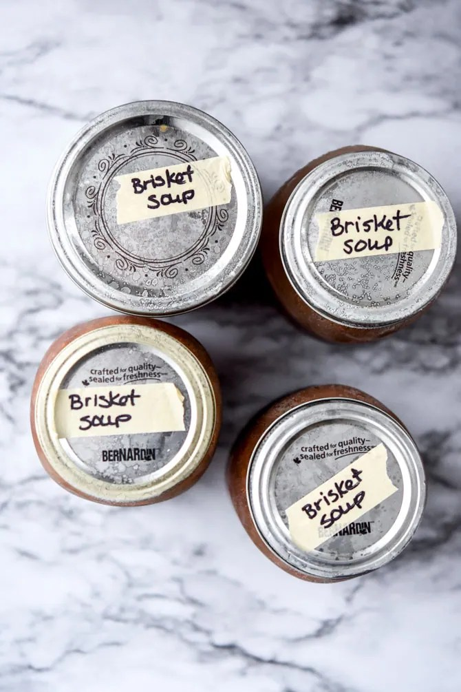 How to freeze mason jar soups-3