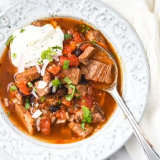 Instant Pot Leftover Brisket Soup