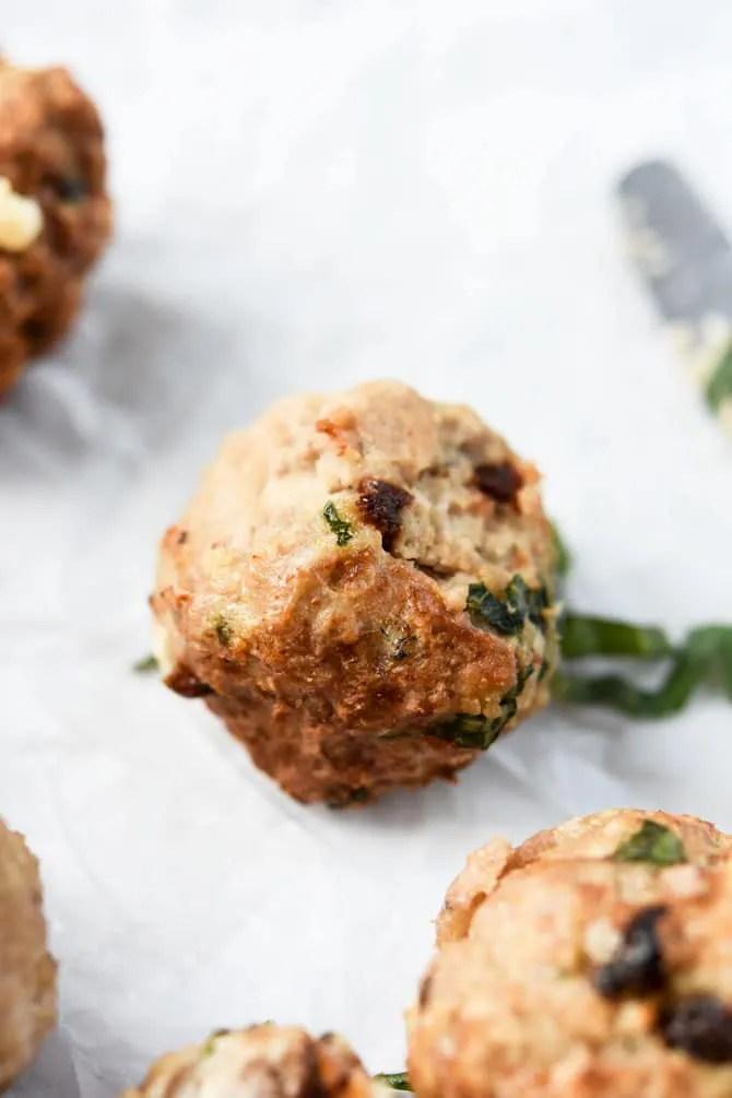 Mediterranean Turkey Meatballs-4