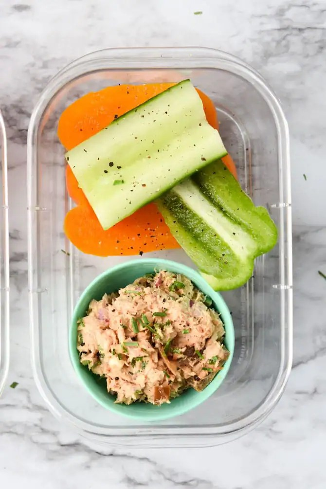 Low Carb Chipotle Tuna Snack Box-9