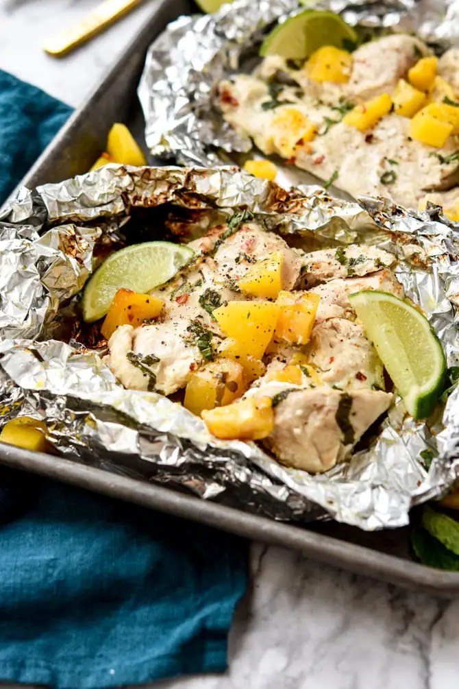 Mango Mojito Chicken Foil Pack -2