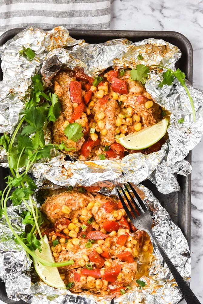 Chili Lime Chicken Foil Pack Hero
