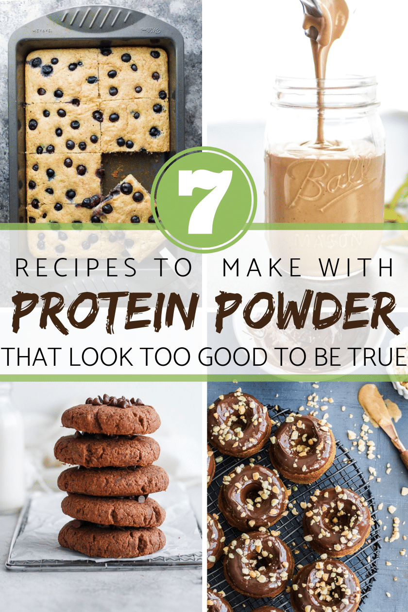 7 RECIPES TO MAKE WITH PROTEIN POWDER