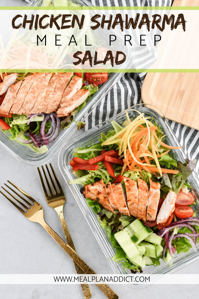 chicken shawarma meal prep salad (2)