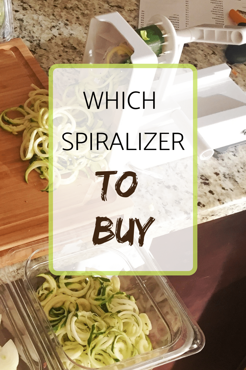 Which Spiralizer to buy