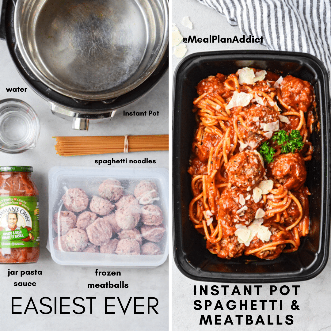 easiest ever spaghetti and meatballs (1)