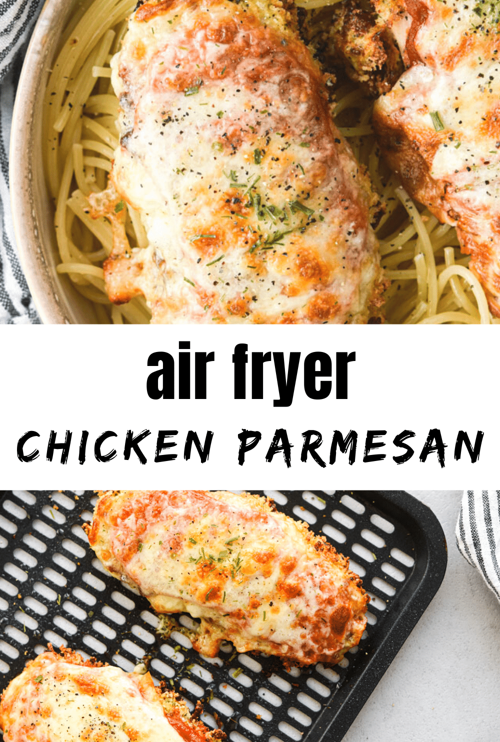 air fryer chicken parm pin
