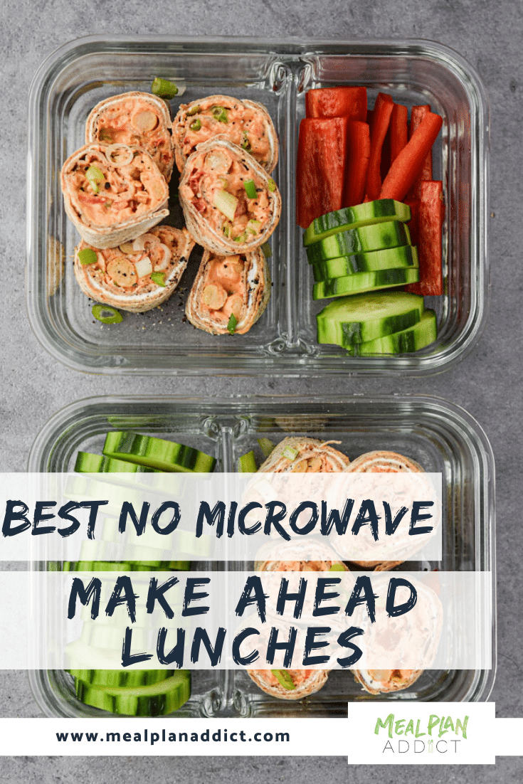 Best no microwave make ahead lunches