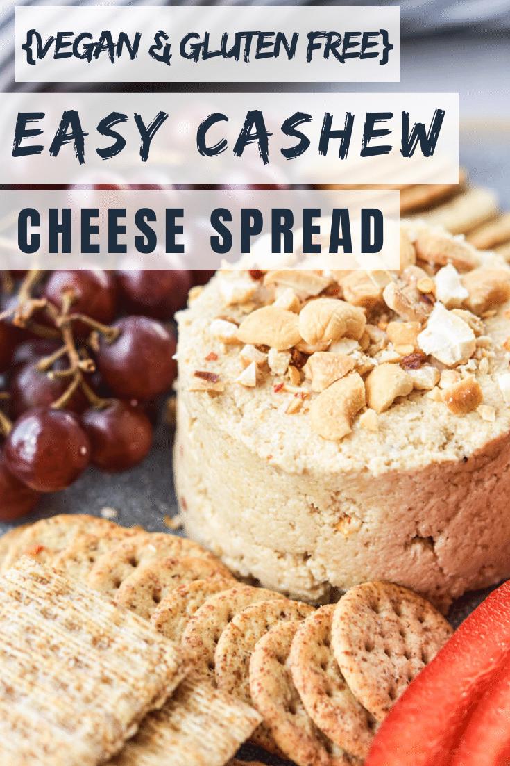 Easy Cashew Cheese Spread