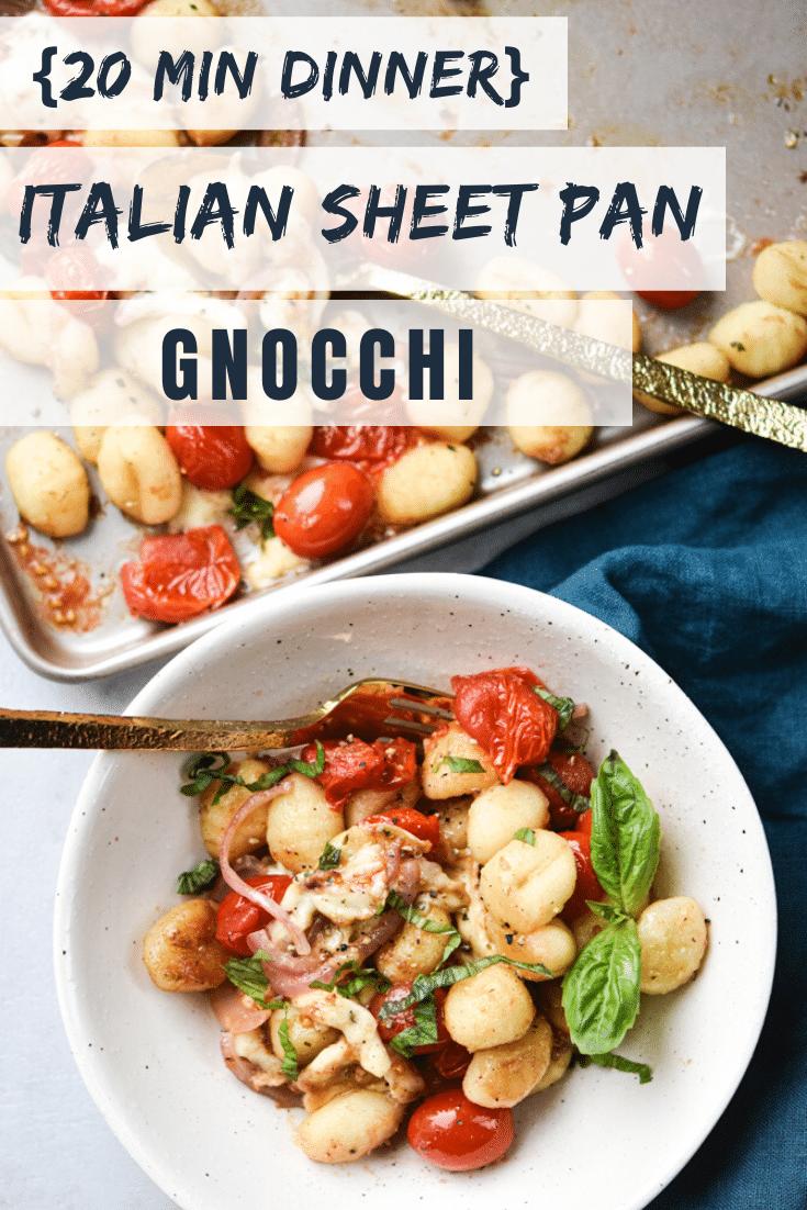 Italian Sheet Pan Gnocchi