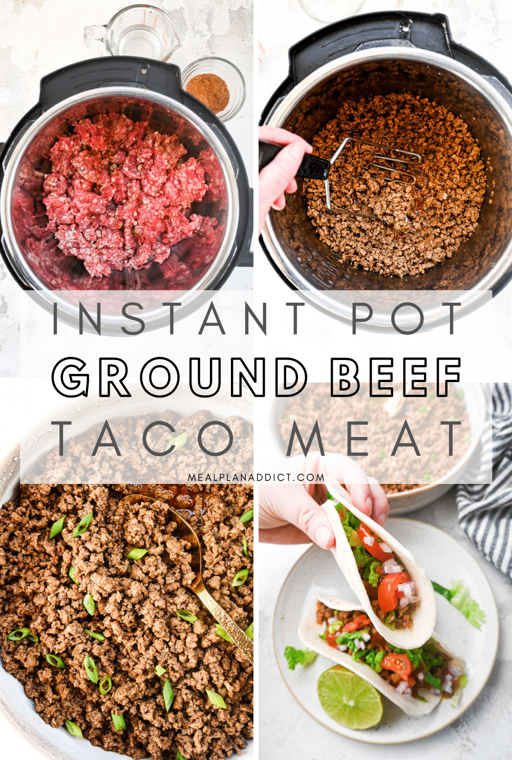 Taco Tuesday Meal Prep with this Ground Beef Taco Meat Recipe
