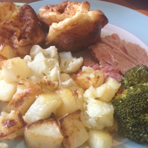 Slow cooker gammon